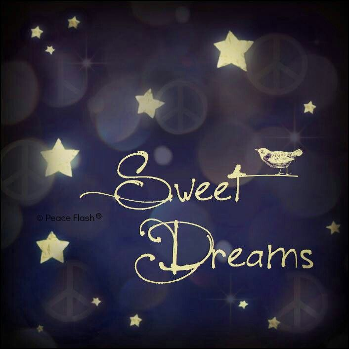May your dreams while you sleep, become wonderful motivation when you wake!