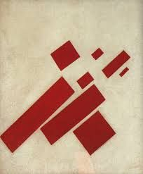 Suprematism / 8 rectangles, 1927