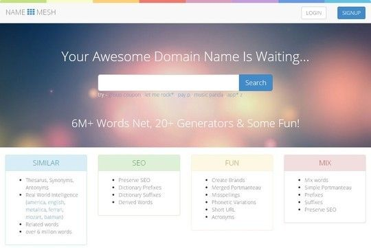 domainname7 15 Tools For Selecting An Ideal Domain Name