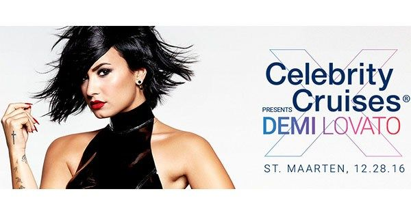 Demi Lovato is doing a private concert for Celebrity Cruises passengers