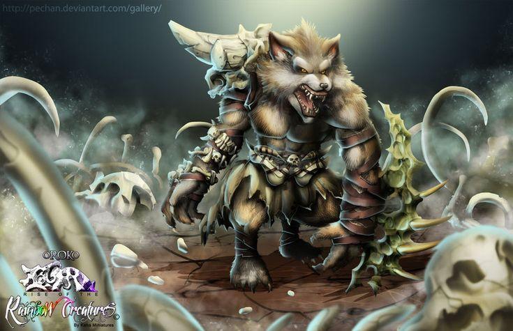 Werewolf vs weretiger - photo#15