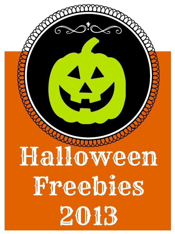 celebrate halloween with free stuff