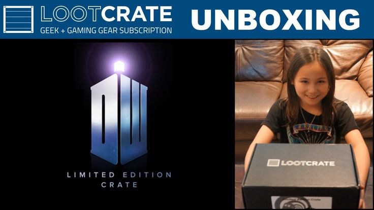 * Limited Edition *  Doctor Who - Loot Crate