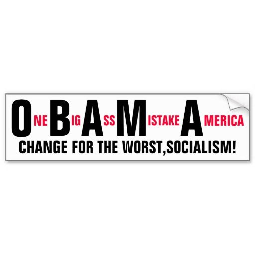 One Outstanding Assed Mistake America Bumper Sticker