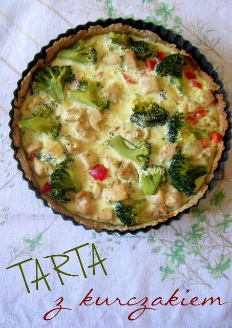 Tarta z kurczakiem i mozzarellą | Domowe Wypieki u Justyny i Doroty