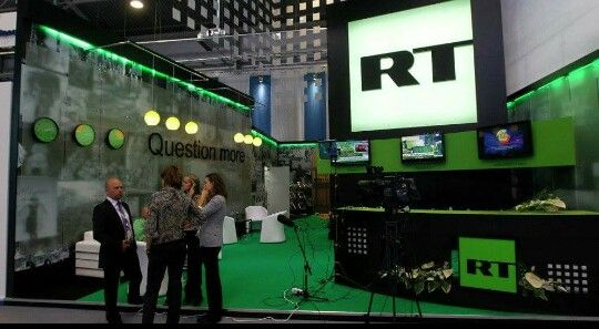RT today...Russian news channel