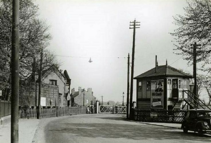 Colwick Crossing, Colwick, Nottingham 1949