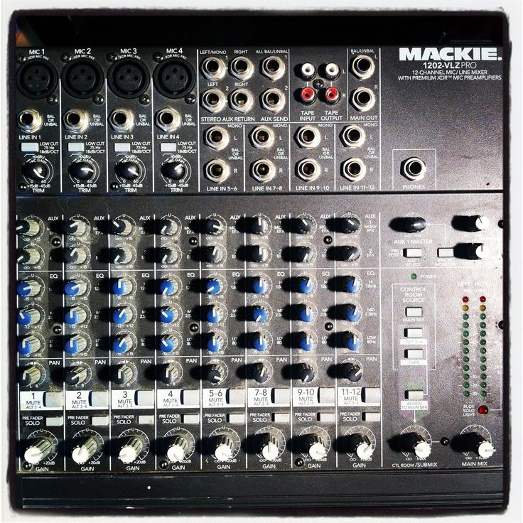 Mackie 1202-VLZ PRO, 12-channel Mic/Line mixer