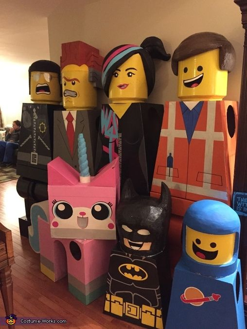 Erin: After enjoying, 'The Lego Movie' so much, I got the idea to make costumes of the characters. With only my husband and myself at home, we needed recruitments, so we...