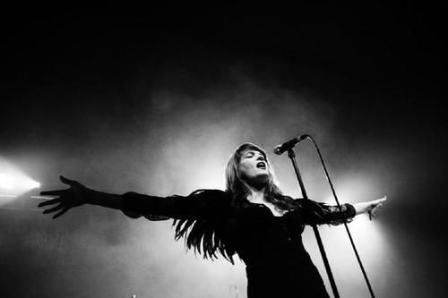 Florence and the Machine; I've never heard anything quite like her!
