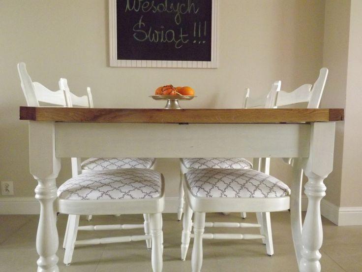 Homemaking is hot!: Stare krzesła w nowej, świątecznej odsłonie