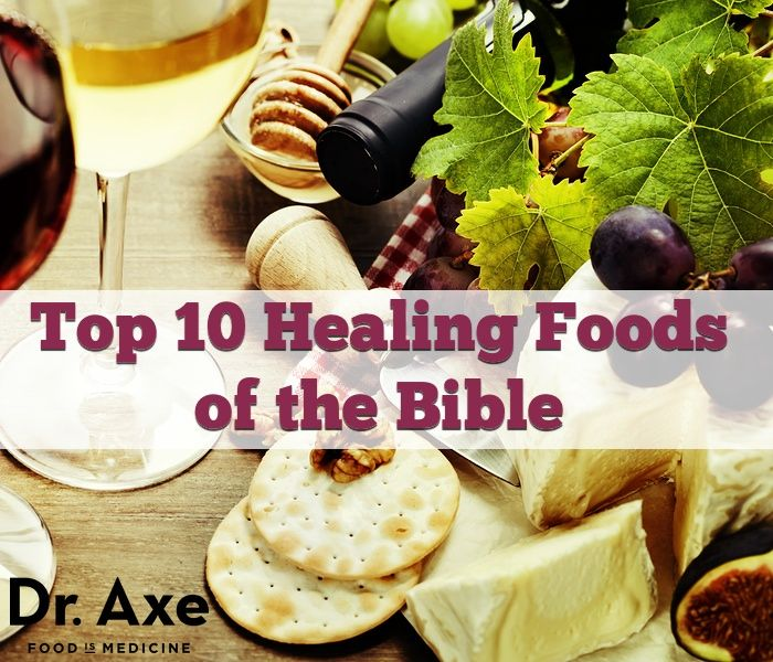 The bible foods with healing properties consist of olives, pomegranate, flaxseeds, raw milk, fermented grapes, bitter herbs and raw honey.