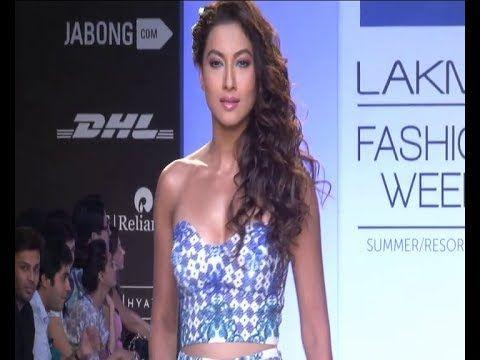 Gauhar Khan SHOWSTOPPER @ Lakhme Fashion Week 2014.