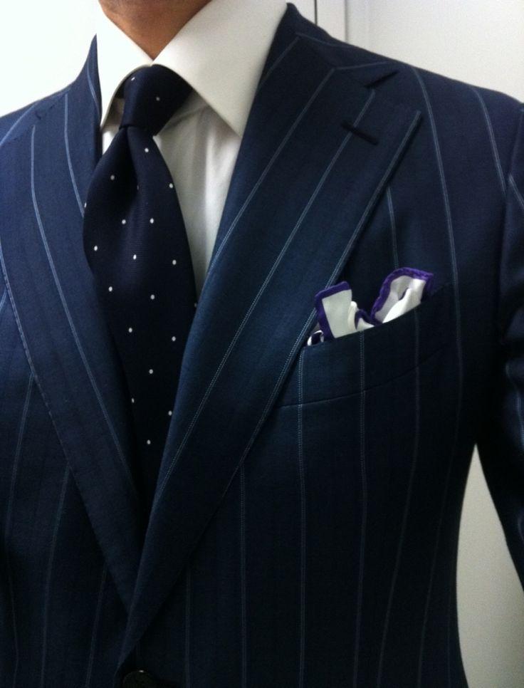 Best 20 blue pinstripe suit ideas on pinterest navy for Blue suit shirt ideas