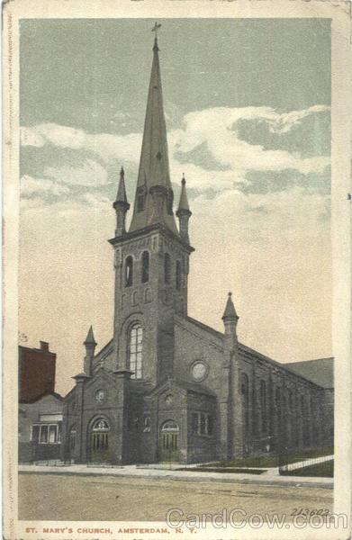 St. Mary's Church, Amsterdam, NY