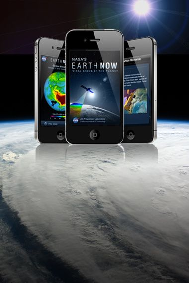 Climate Change: Vital Signs of the Planet: Earth science apps