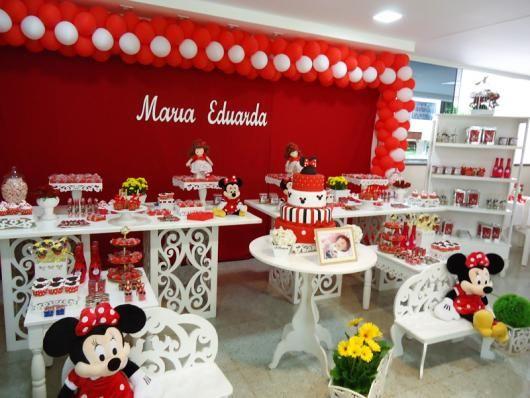 Festa Da Minnie Vermelha 40 Ideias Apaixonantes Para Arrasar Na