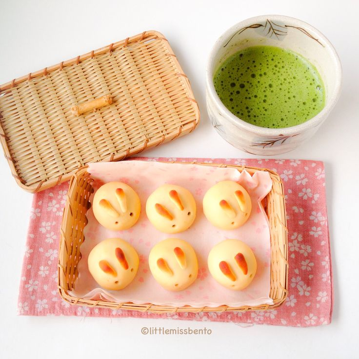Rabbit Wagashi Mooncake Recipe by Little Miss Bento