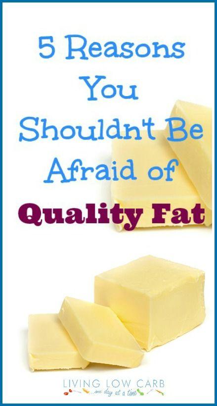 5 Reasons to embrace quality fat | lowcarboneday.com #lowcarb #paleo #grainfree