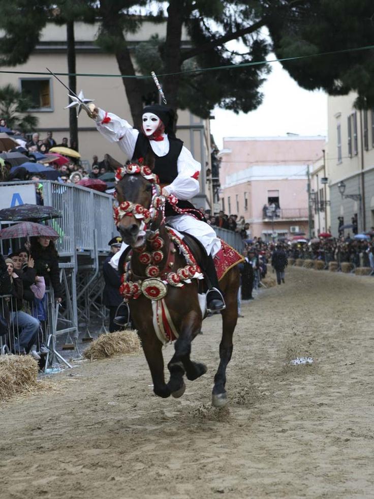 Sartiglia di Oristano, Carnival weekend, Sardegna