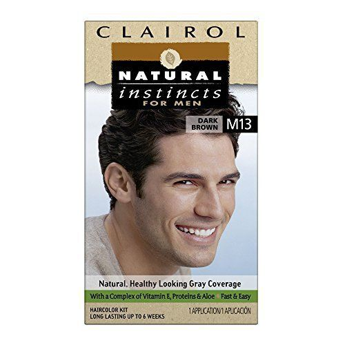 Clairol Natural Instincts Hair Color For Men M13 Dark Brown 1 Kit (Pack of 3) - http://essential-organic.com/clairol-natural-instincts-hair-color-for-men-m13-dark-brown-1-kit-pack-of-3/