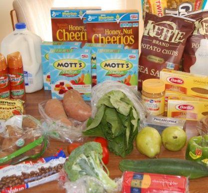 Gretchen's $49 Shopping Trip & Weekly Menu Plan