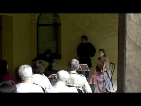 """Amors merçè non sia"", a 13th-century anonymous song performed live by Evelyne Moser, Davide Di Giannantonio (and Denis Vanderhaegen) during their concert ""Le troubadour et la trouveresse"" at the ""Festival Prieurales 2010""."