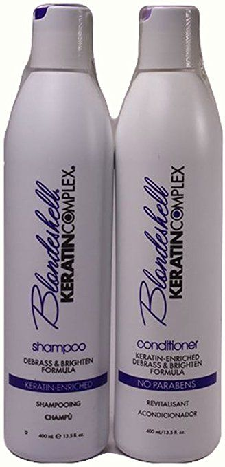 Keratin Complex Blondeshell Shampoo & Conditioner Duo Set, 13.5 ounce each Review