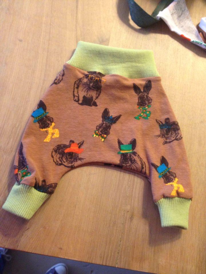 Baby bunny pants
