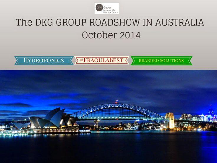 IQ Crops : The DKG GROUP Roadshow in Australia (Ocrober 2014)