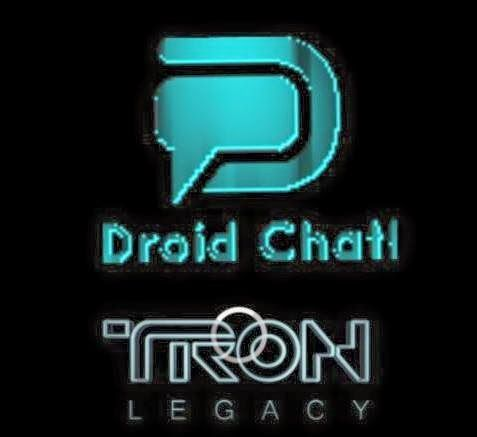 Droid Chat! v3.5.03 Tron Legacy Blue