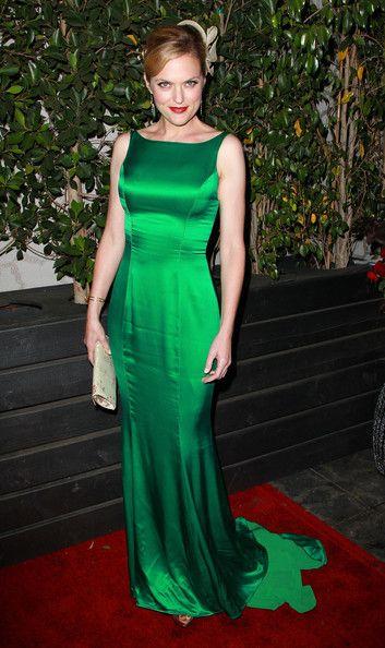 Beleza de Corpo Inteiro: Vestido de festa - longo verde