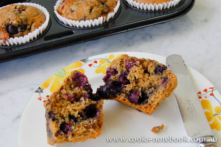 These blueberry muffins are more blueberry than muffin, which is just how I like them. I hope you do too.
