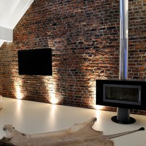 Ecoled wall uplighting effects remodel musts pinterest for Living room uplighting