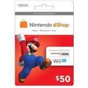 Nintendo eShop Mario $50