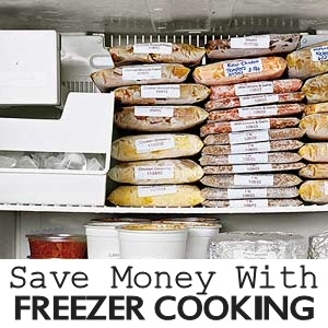 Save Money With Freezer Cooking via MrsJanuary.com #savemoney #frugal
