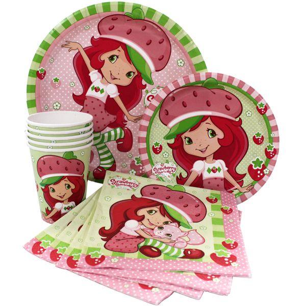 66 best Strawberry Shortcake Party images on Pinterest   Strawberry ...