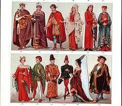 Image result for vestimenta primitiva edad media