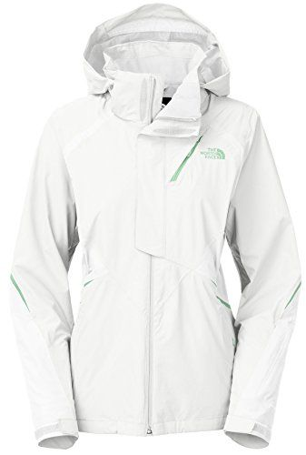 The North Face WOMEN'S KIRA TRICLIMATE JACKET Large TNF WHITE