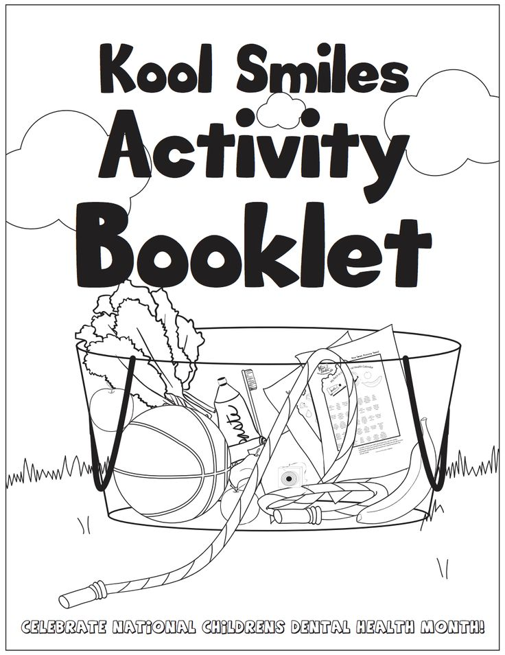 In Celebration Of National Childrens Dental Health Month We Have Created An Activity Booklet For