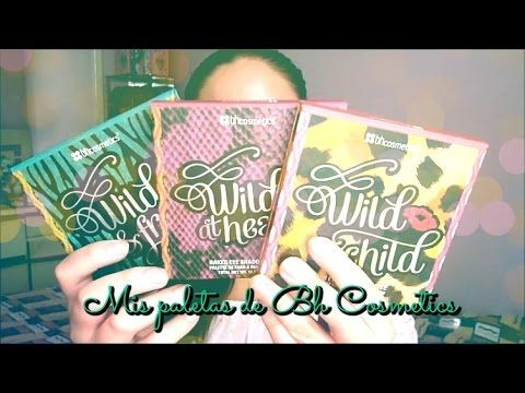 MIS PALETAS DE BH COSMETICS - YouTube