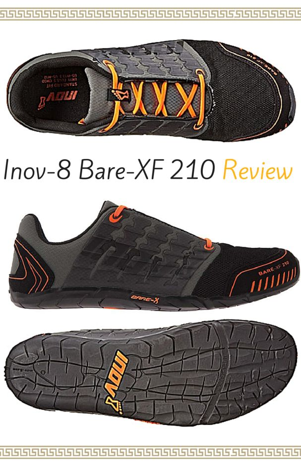 Inov-8 Bare-XF 210 Review for Natural Running - One of the Most Durable Barefoot Running Shoes