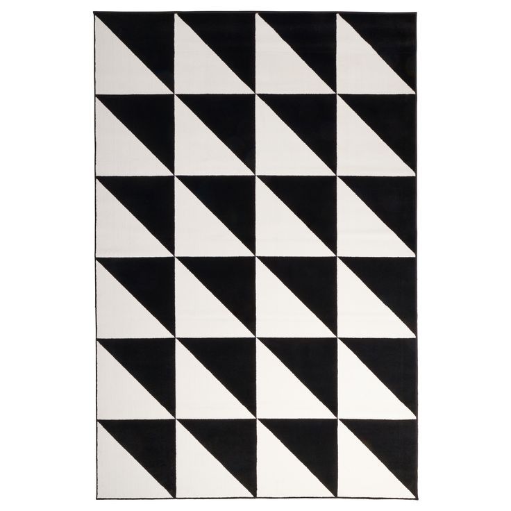 """SILLERUP Rug, low pile - IKEA $120.  6'7"""" x 9'10"""" - checking dining room dimensions"""