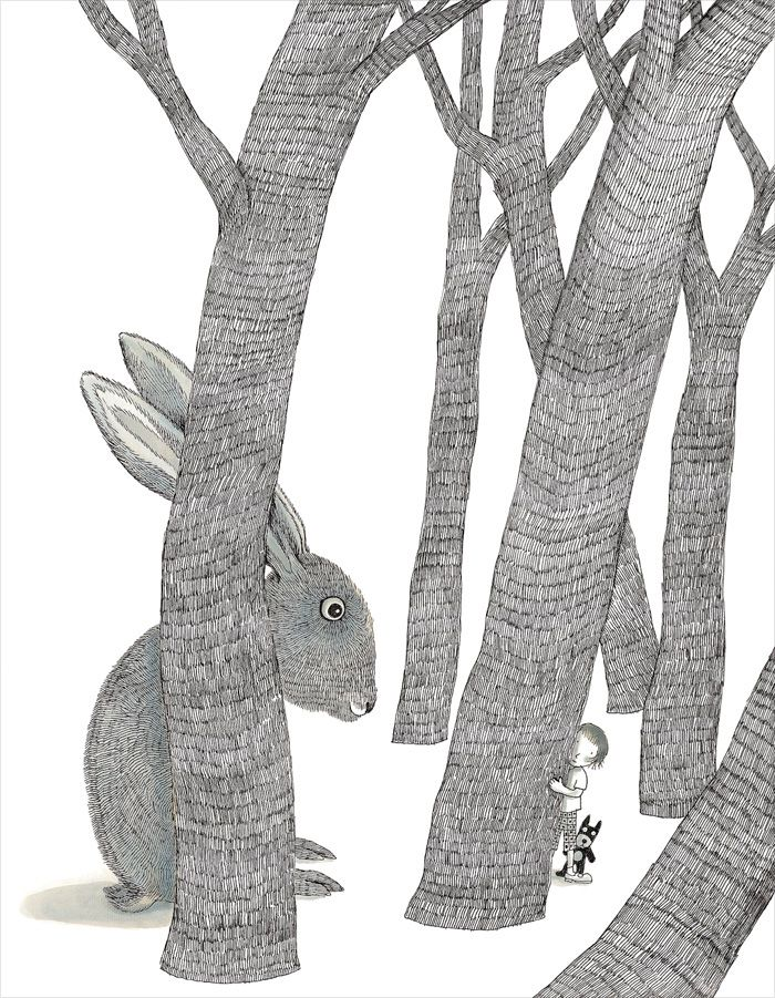 Illustration from 'Secrets in the Woods' by Jimmy Liao – published by Locus Publishing