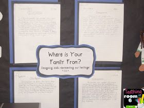 What is an Immigrant Essay that the students wrote after reading various articles about immigration.