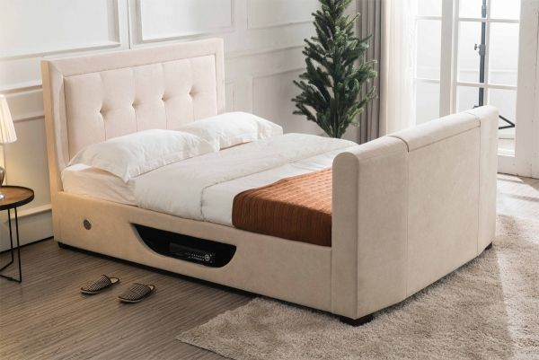 Flair Juliet 4FT 6 Double Ottoman TV Bed | TV ottoman beds ...