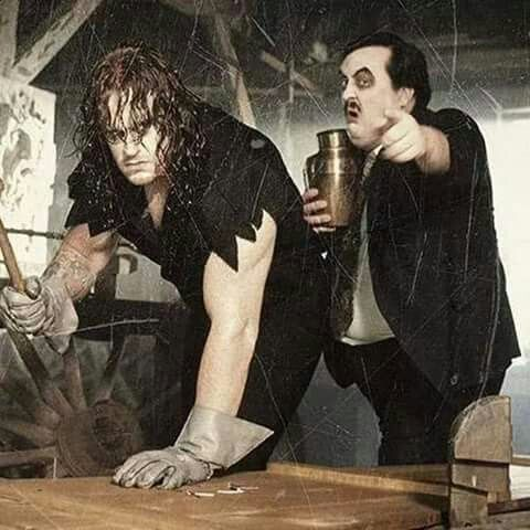 The Undertaker & Paul Bearer (1992)