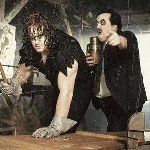 The Undertaker & Paul Bearer (1992)