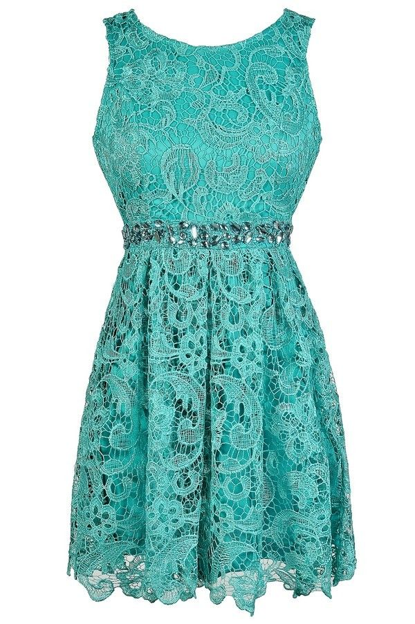 25  best ideas about Teal dresses on Pinterest | Pretty dresses ...