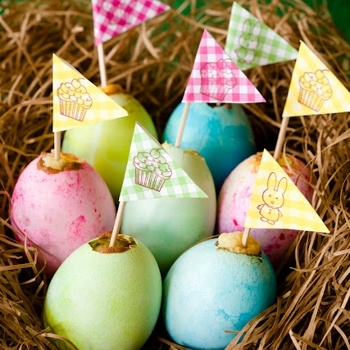"""« Back to All Recipes  Easter Egg Cupcakes With """"Yolk"""" Centers"""